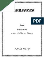 Cabriolar__ Bandolim Com Violão Ou Piano (Grade e Partes) AZAEL NETO