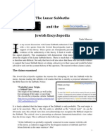 Jewish_Encyclopaedia Lunar Sabbath