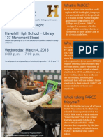 parcc parent information night