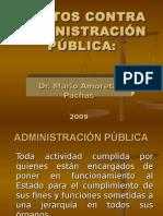 Delitos Contra La Administración Pública-Mario Amoretti Pachas