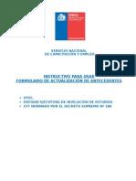 DInstructivo 2013 Para Formulario Actualizacion MODIFICACION 2013