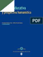 Gestión educativa y prospectiva humanística Libro Gestion Educativa