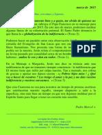 Marcel Blanchet – Marzo 2015 - Bélgica Centro Internacional de las Pequeñas Almas