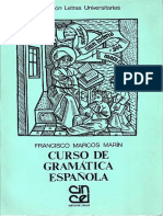 Curso de gramática española