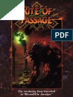 Werewolf - The Apocalypse - Rite of Passage.pdf