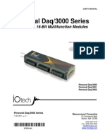 Personal Daq3000 Series Data Acquisition system