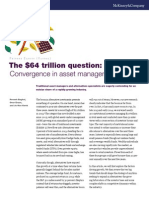 The 64 Trillion Dollar Question Convergence in Asset Management