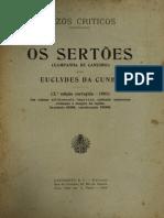 Euclides Da Cunha - Os Sertoes