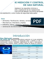 Estacion de Medición y Control de Gas Natural