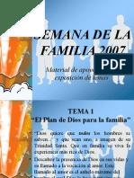 Material de Apoyo Para Los Temas de La Familia 2007