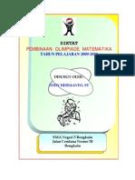 Draft Diktat Pembinaan Olimpiade Matematika SMA N 5 Bengkulu Versi 2