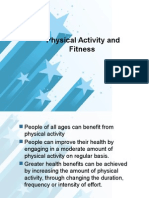 Physical Activity and Fitness Movement