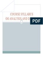 Syllabus OOAD UBL 2015 [Compatibility Mode]