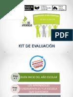 Kit de Evaluacion - 2014