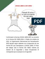 Actualizacion de OHSAS 1