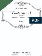 Mozart Fantasie