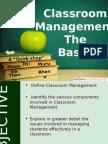 Ppt Classroom Management