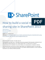 How to Build a Social Media Sharing Site in SharePoint 2013