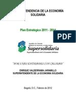 Plan Estrategico 2011 2014 Febrero 2012