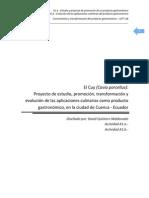 El Cuy como producto gastronómico innovador - Conocimiento y transformación  del producto gastronómico CETT UB.pdf