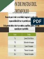"""Revisiã""""n de Pastas Del Portafolio"""