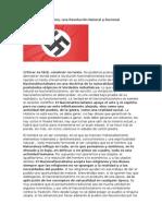 El Nacionalsocialismo Una Revolución Natural y Racional