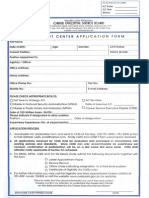 AC Application Form - 2011
