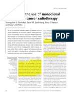Advances in the use of monoclonal in cancer radiotherapyi´p´´piói