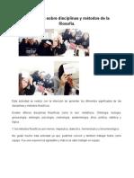 5. Memorama Sobre Disciplinas y Métodos de La Filosofía (Filosofía)