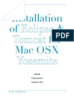 Eclipse & Tomcat Installation for Yosemite