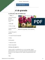 El Universal - - Mezcalini de Granada