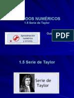 Serie de Taylor