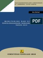 Eksklusif Book Monitoring dan Evaluasi Penyelenggaraan Bangunan Gedung pada Tahun 2014