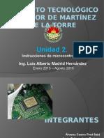 Unidad 2 Microcontroladores