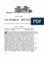 Uk 1837 1Vict c26 Wills Act