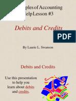 3.Debit Credit
