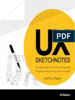 Ux Sketch Notes by Matthew Magain