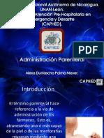 Administración Parenteral