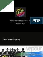 Green Rhapsody Brand Nomenclature
