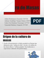 Cultura de Masas