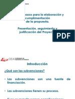 Presentación, Seguimiento y Justificación Del Proyecto