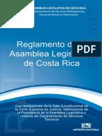 Reglamento Asamblea Legislativa de CR