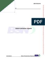 SNI 6729-2013-Sistem Pangan Organik