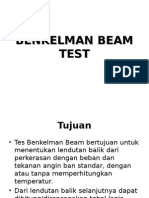 Benkelman Beam Test