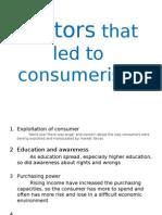 Factors That Led to Consumerism Neha
