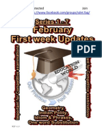 February 1st Week Updates Series 1 to 7 Education World