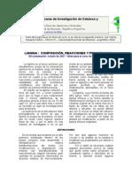Química de La Madera 04 Lignina