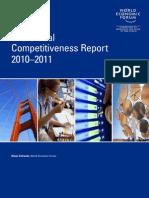 WEF GlobalCompetitivenessReport 2010-11