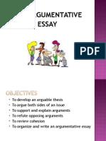Lecture 8 Argumentative Essay