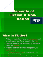 Elements of Fiction Non-fiction
